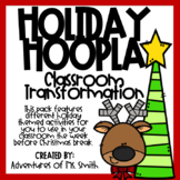 Holiday Hoopla Transformations (WITHOUT Task Cards)