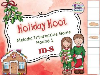 Holiday Hoot - Round 1 (M-S)