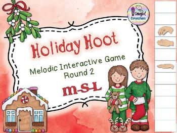 Holiday Hoot - Round 2 (M-S-L)