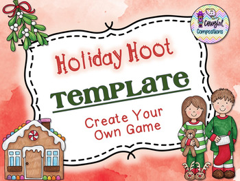 Holiday Hoot Template  - Create Your Own Game