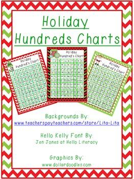 Holiday Hundreds Charts