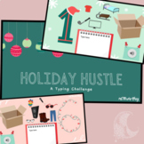 Holiday Hustle - Digital Interactive Typing/Keyboarding Challenge