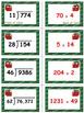 Holiday Hustle Game Cards (Division with 2-Digit Divisors)