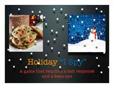 I Spy Holiday Winter Mystery Puzzle Game - Literacy - Keynote - ESL SPED K 1st