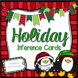 Winter Holiday Inferencing {Differentiated Task Cards for Making Inferences}
