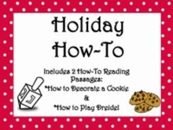 Holiday Informational ELA