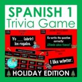 Spanish Christmas Activity   Spanish 1 Review Holiday Jeop