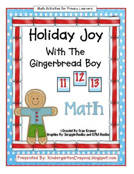 Holiday Joy With The Gingerbread Boy: Math