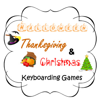 Halloween Thanksgiving Christmas Clipart.Halloween Thanksgiving Christmas Keyboarding Games