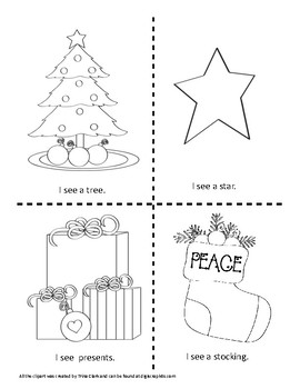 Holiday Kindergarten Math and Literacy Fun