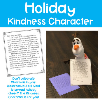 Holiday Kindness Character