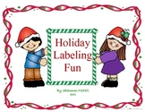 Holiday Labeling Fun