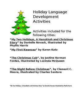Holiday Language Activities