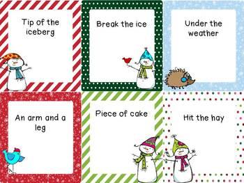 Holiday Language Activity Packet!