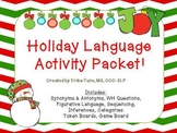 Holiday Language Activity Packet!