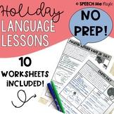 Holiday Language Lessons