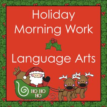 Holiday Language Morning Work