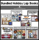 Holiday Lap Books Bundle for Second Grade