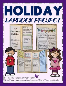 Holidays Lapbook Project
