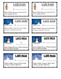 Holiday Late Passes