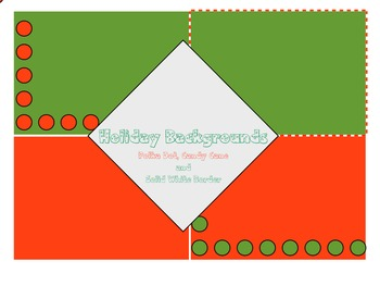 Holiday Lesson and Activities Backgrounds