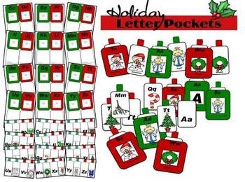 Holiday Letter Pockets (Interactive Pockets)