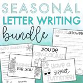 Holiday Letter Writing Bundle | Holiday Writing Activity