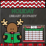 Holiday Library Jeopardy - PowerPoint and Google Slides versions
