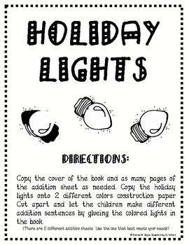 Holiday Light Book Patterning