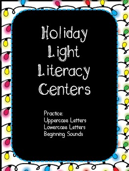 Holiday Light Literacy Center