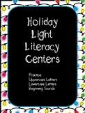Holiday Light Literacy Center