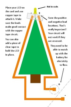 Holiday Light-Up Circuit Cards
