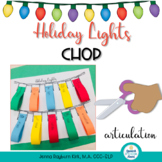 Holiday Lights Chop: Articulation Craft