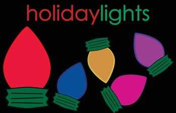 Holiday Lights Clipart