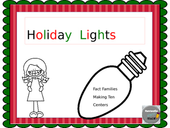 Holiday Lights Math Fun