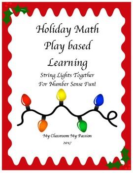 Holiday Math Play Based Learning : Number Sense