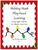 Holiday Math Play Based Learning : Number Sense 1-20