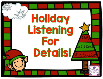 Holiday Listening for Details