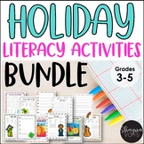 Holiday Literacy Activities Bundle