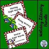 Holiday Literacy Activities and Games Bundle