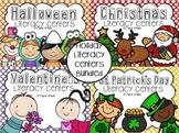 Holiday Literacy Centers BUNDLED