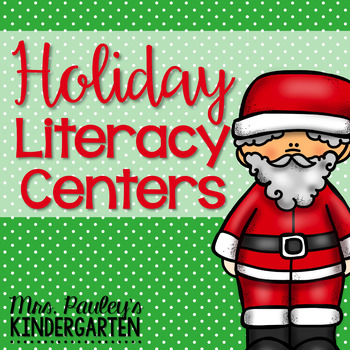 Holiday Literacy Centers Pack