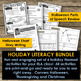Holiday Literacy Activities - Halloween, Thanksgiving and