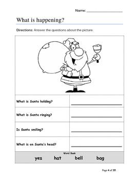 Holiday Literacy Packet - K-3rd Grade