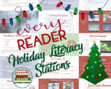 Christmas Literacy Stations, Activities, Handouts, Interac