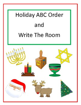 Holiday Literacy and Math Centers