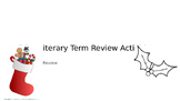 Holiday Literature Terminology Review