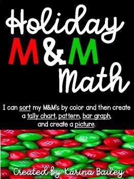 Holiday M&M Math
