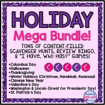 Holidays Activities & Games Mega Bundle