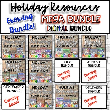 Holiday MEGA Bundle {Digital}